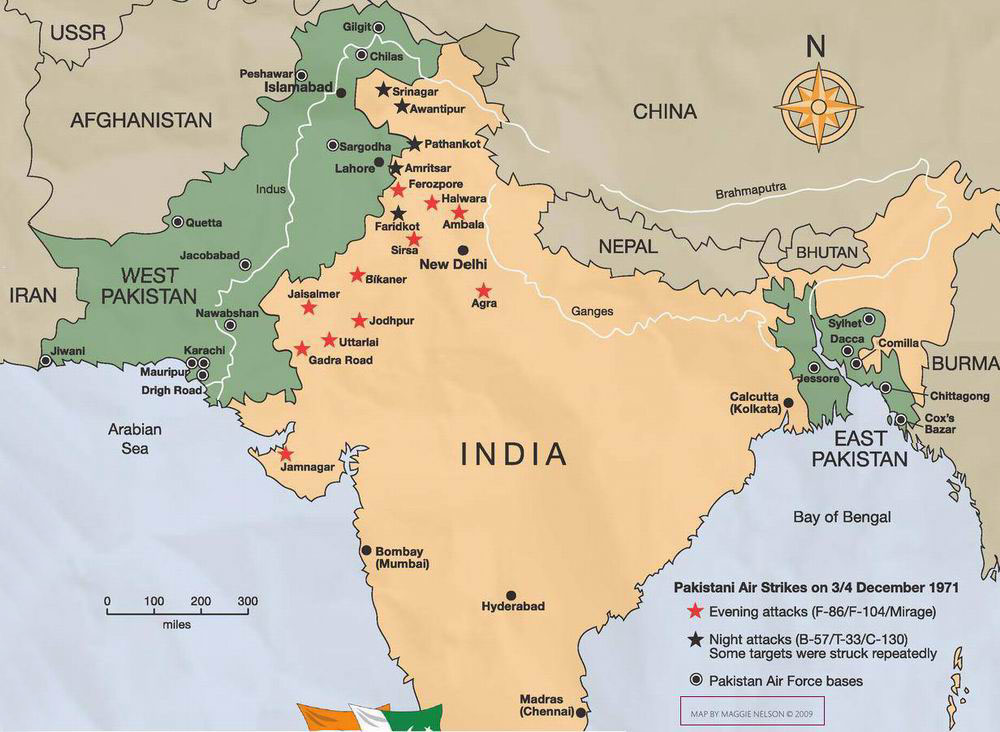 Why did the Pak Air Force not attack Delhi during 1965 and ...