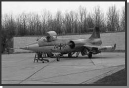 F-104G Starfighter Luftwaffe JaboG 31 24+95 1983 - Kinetic 1/48 F10424+95th